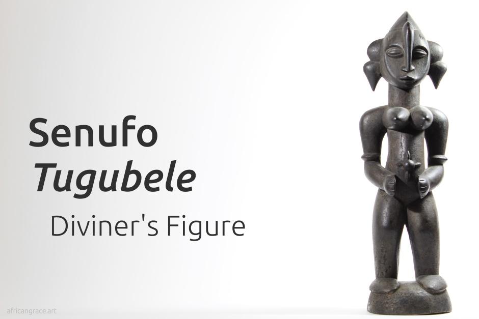 Senufo tugubele title - diviner's figure